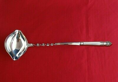 "Danish Baroque by Towle Sterling Silver Punch Ladle 13 3/4"" Twist HHWS  Custom"
