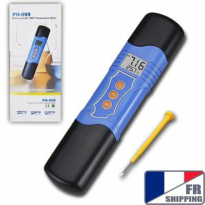 FR 3 in 1 Waterproof pH / ORP / Temperature Meter Water Tester Oxidation ATC °C
