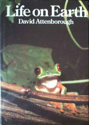 Life On Earth: A Natural History by David Attenborough Hardback Book The Cheap
