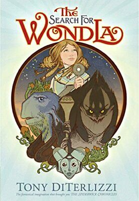 The Search for Wondla by DiTerlizzi, Tony Hardback Book The Cheap Fast Free Post