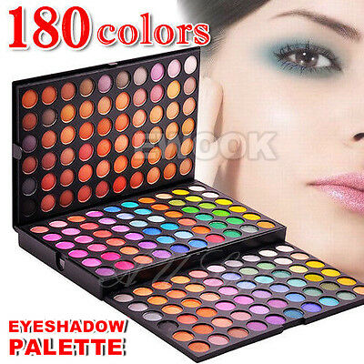180 color Eye shadow Eyeshadow palette Shimmer Matte Eyeshadows Eye Makeup