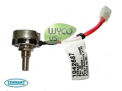 1042687, Wire Assy Potentiometer 45K Ohm,tennant A3, A5, Speed Scrub 17-20-24-32