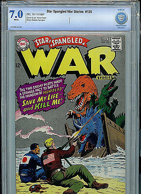 Star Spangled War Stories #135 CBCS Graded 7.0 DC Comics Silver Age 1967