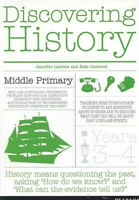 Discovering History Middle Primary Teacher Resource by Jennifer Lawless Free Shi
