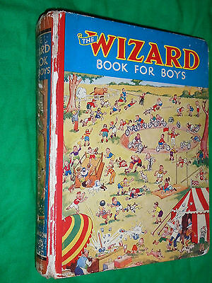 The Wizard Book for Boys 1937 D.C. Thomson