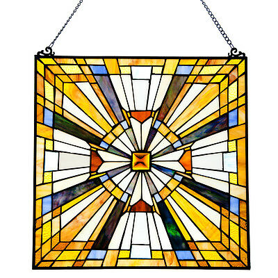 River of Goods Stained Glass Pharaoh's Jeweled Window Panel