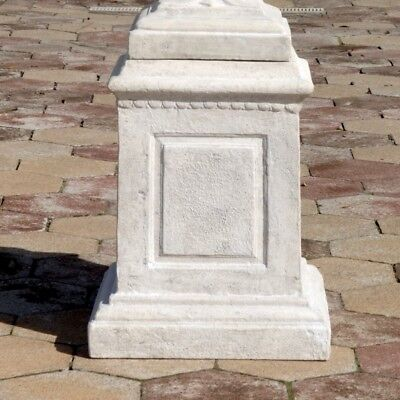 Design Toscano Larkin Arts and Crafts Architectural Plinth Pedestal