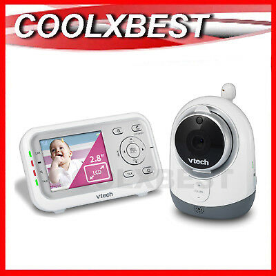 Free Postage- New Vtech Bm3000 Audio & Video Baby Monitor Talk-Back Night Vision