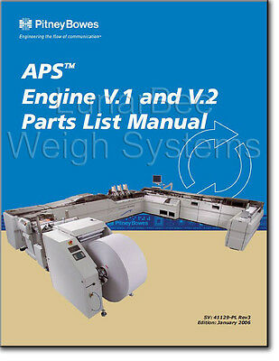 Pitney Bowes APS Advanced Productivity System Parts Manuals