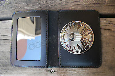 Avengers Agents of S.H.I.E.L.D SHIELD Eagle Hawk Logo Badge Holder Wallet