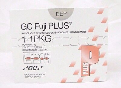 Dental Fuji Plus GC Radiopaque reinforced Glass Ionomer Luting Cement