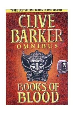 Books of Blood Omnibus Volumes 1-3 by Barker, Clive Hardback Book The Cheap Fast