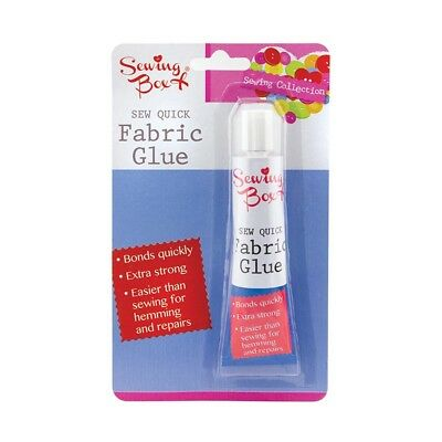 Extra Strong Sew Quick Fabric Glue