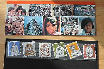 1984 United Nations A Future for Refugees Stamp set of 6 in Presentation folder