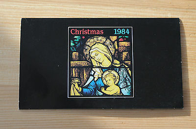 1984 Australia Christmas stamp set of 5 in presentation folder