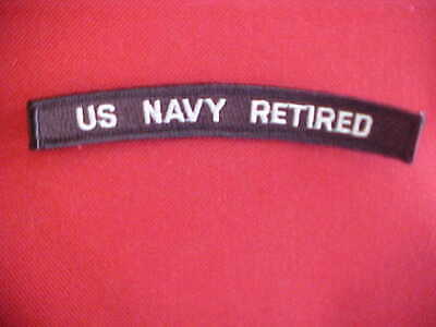 US NAVY - US  NAVY  RETIRED - UIM / Rocker