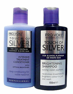DUO Provoke Touch Of Silver - Twice A Week Shampoo & Intensive Conditioner