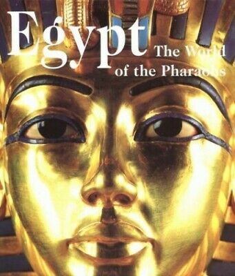 Egypt: The World of the Pharaohs by Matthias Seidel Hardback Book The Cheap Fast