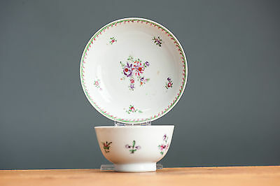 Nice Quality! 18c. Qianlong Famille Rose Tea Cup Saucer Chinese Porcelain Qing