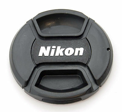 58mm Center Pinch Front Lens Cap for Nikon LC-58 AF-S 50mm f/1.4 55-300mm NEW