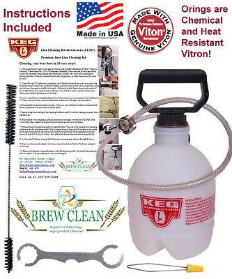 Premium Beer Line Cleaning Kit (CL305Ebay)