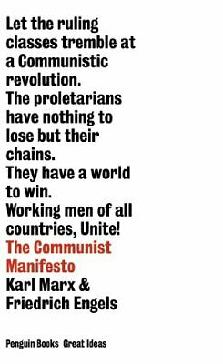 Penguin Great Ideas : The Communist Manifesto by Marx, Karl Paperback Book The