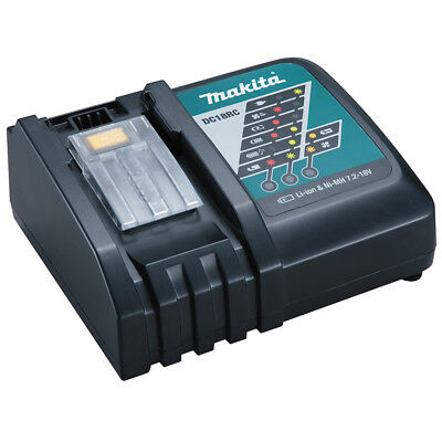 Makita DC18RC Fast Lithium-Ion Battery Charger for BL1830/BL1840/BL1850 Battery