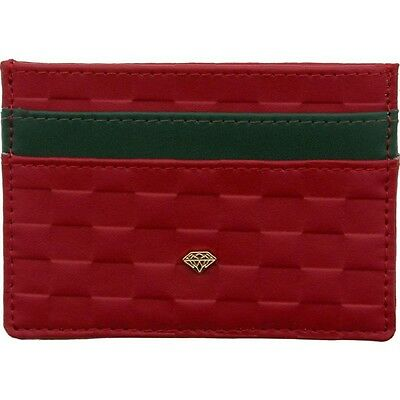 $40 Diamond Supply Co Checker Card Holder Wallet (red)