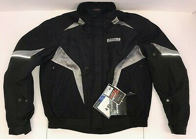 Spidi Race H2OUT Waterproof Motorcycle Riding Jacket-Black  56 (XXL/2XL) -In Stk