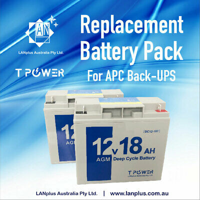 Replacement Battery Pack RBC7 for APC UPS 750XL 1000XL 1500 Tower model 1-yr wty