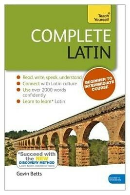 Complete Latin Beginner to Intermediate Course by Gavin Betts Paperback Book