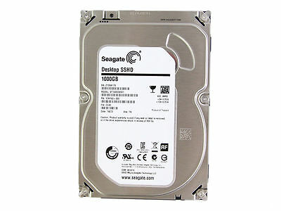 "Festplatte Seagate SSHD Hybrid 1TB 8GB Flash 3.5"" 64 MB SATA 6Gb/s ST1000DX001"