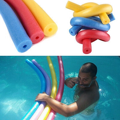 Fun Swimming Swim Pool Noodle Water Float Aid Woggle Noodles Hollow Flexible New