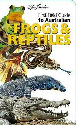 First Field Frogs and Reptiles by Paperback Book
