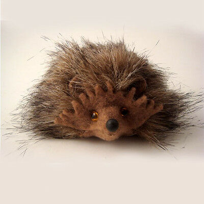 Children's Fluffy Hedgehog Soft Toy