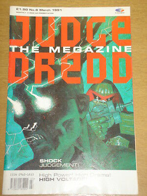 2000Ad Megazine #6 Vol 1 Judge Dredd*