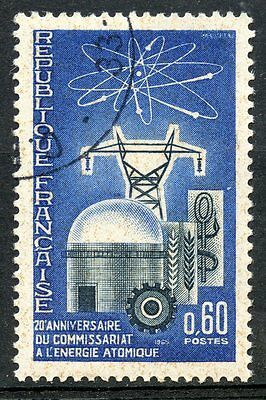 Stamp / Timbre France Oblitere N° 1462  Energie Atomique