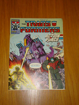 Transformers British Weekly #169 Marvel Uk Comic 1988