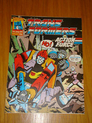 Transformers British Weekly #224 Marvel Uk Comic 1989