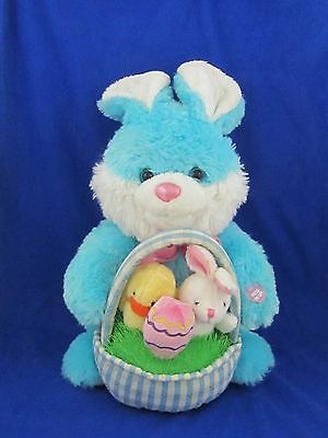 "Dan Dee Bunny Lights Up & Singing ""here Comes Peter Cottontail"" Plush Animal 13"""