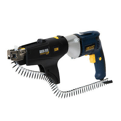 550W Auto-Feed Drywall Screwdriver GAFS230  GMC Drills Combi Drills
