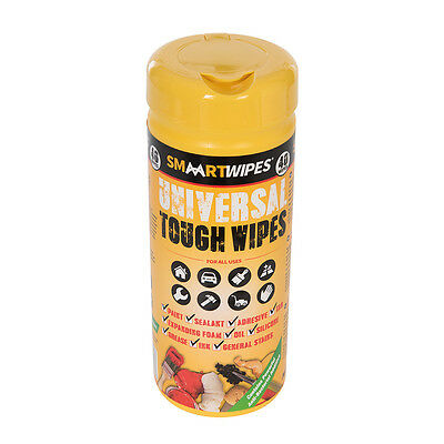 Universal Tough Wipes 40pk 40pk Wipes