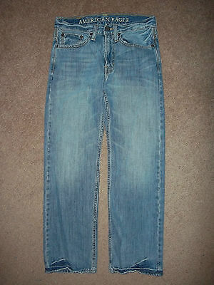 American Eagle Relaxed Jeans Size 28/30 Denim 29X28 1/2