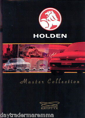 2004  Holden Trading Cards Official Album
