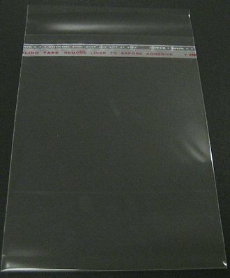 Set of 100 16 3/8x20 1/8 Crystal Clear Bag for mat mattes