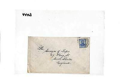 VV163 1911 Argentina Buenos Aires Cover Samwells-Covers