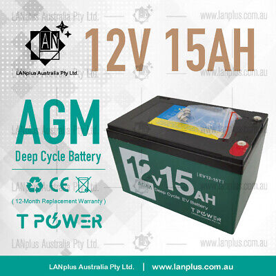 NEW 12V 15AH AGM Rechargeable Battery Electric Bike Mobility Scooter >12AH 14AH