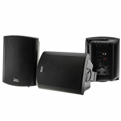 Wintal Studio6AB Inch 6.5 Active Powered Outdoor Speaker 35W Rms Wall Bracket BK