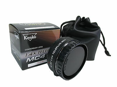 Kenko 1.4x Teleplus MC4 DGX Conversion Lens for Sony / Minolta / Maxxum