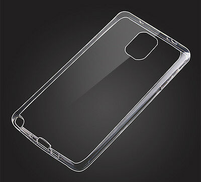 1PCS Ultra Thin  Silicone Clear Transparent Soft TPU Case Cover for Samsung